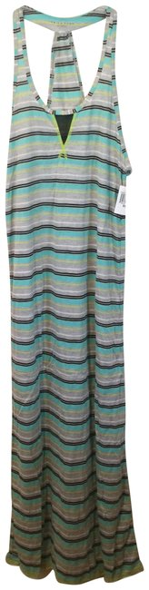 Preload https://img-static.tradesy.com/item/24074741/trina-turk-gray-turquoise-striped-swim-cover-long-casual-maxi-dress-size-0-xs-0-1-650-650.jpg