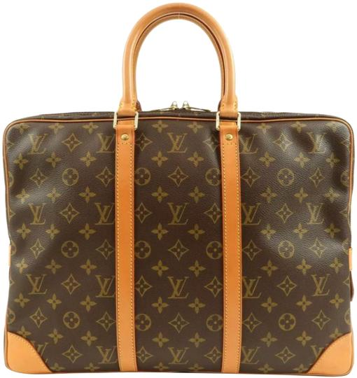 Preload https://img-static.tradesy.com/item/24074869/louis-vuitton-porte-lv-monogram-documents-voyager-brown-canvas-weekendtravel-bag-0-1-540-540.jpg
