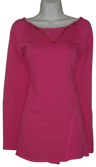 Preload https://img-static.tradesy.com/item/24074943/boston-proper-embellished-neckline-pink-sweater-0-1-650-650.jpg