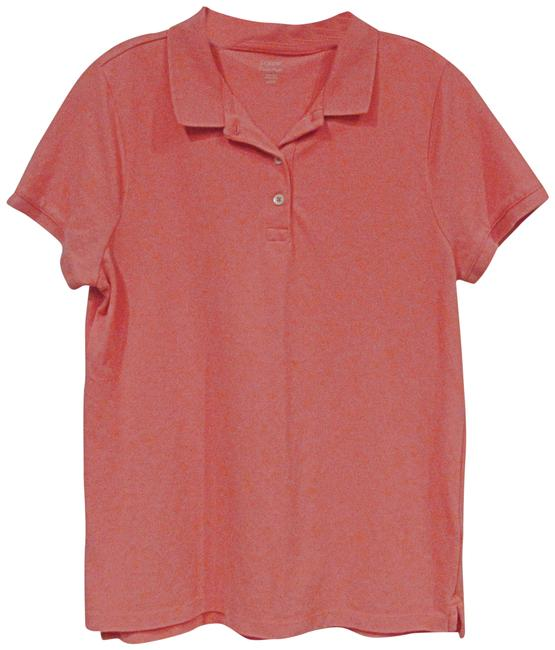 Preload https://img-static.tradesy.com/item/24075028/jcrew-orange-classic-pique-polo-blouse-size-12-l-0-1-650-650.jpg