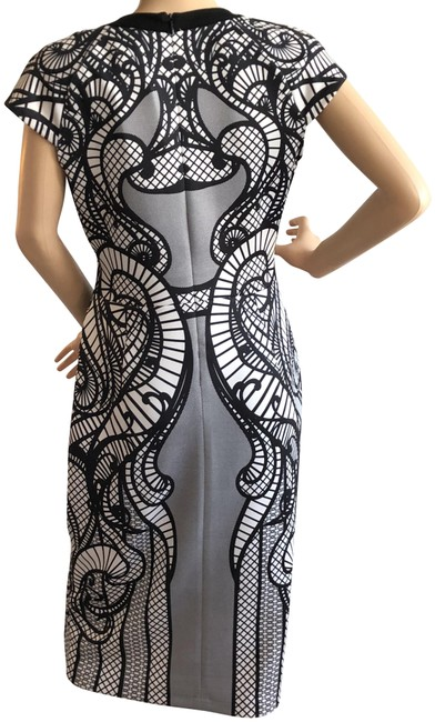 Preload https://img-static.tradesy.com/item/24075051/beige-by-eci-black-and-white-lace-look-mid-length-night-out-dress-size-8-m-0-1-650-650.jpg