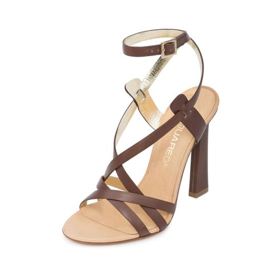 Preload https://img-static.tradesy.com/item/24075057/dsquared2-matte-brown-new-dsq2-genuine-leather-strappy-ankle-wrap-stiletto-dress-high-heels-sandals-0-0-540-540.jpg