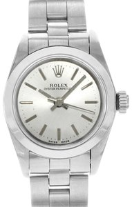 Rolex Oyster Perpetual 67180 Silver Stick Dial 1995