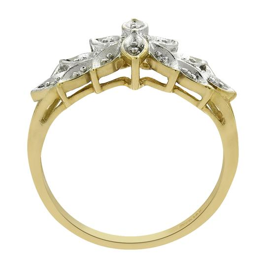 Avital & Co Jewelry Diamond Accent Vintage Ladies Ring 10K Yellow Gold