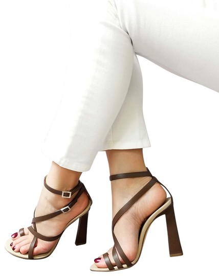Preload https://img-static.tradesy.com/item/24075112/dsquared2-brown-new-dsq2-genuine-leather-strappy-toe-ring-dress-high-sandals-size-us-8-regular-m-b-0-1-540-540.jpg