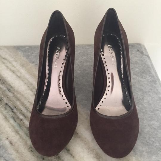BCBGeneration Chocolate Brown Pumps