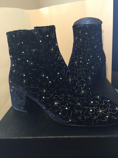 Ash Velvet Midnight Boots