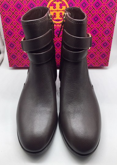 Tory Burch Leather Ankle Brown Boots
