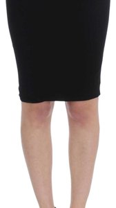 Karl Lagerfeld D32475-1 Women's Straight Pencil Skirt Black