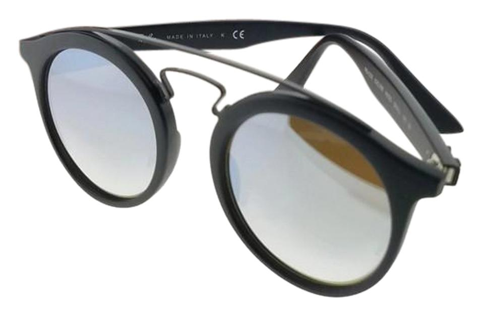 88c74014f4 Ray-Ban Black Frame Rb4256-6253b8-46 Gatsby Unisex Grey Lens Sunglasses
