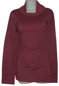 Cuddl Duds Comfortable So Soft Top Maroon