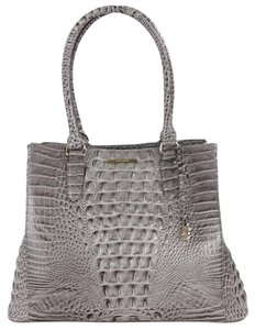 Brahmin Tote in Gray