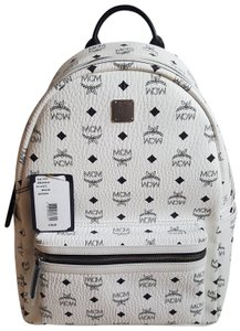 MCM Monogram Medium Backpack