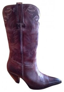 Charlie 1 Horse by Lucchese Burgundy Boots