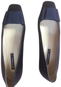 Bruno Magli Navy Blue Flats