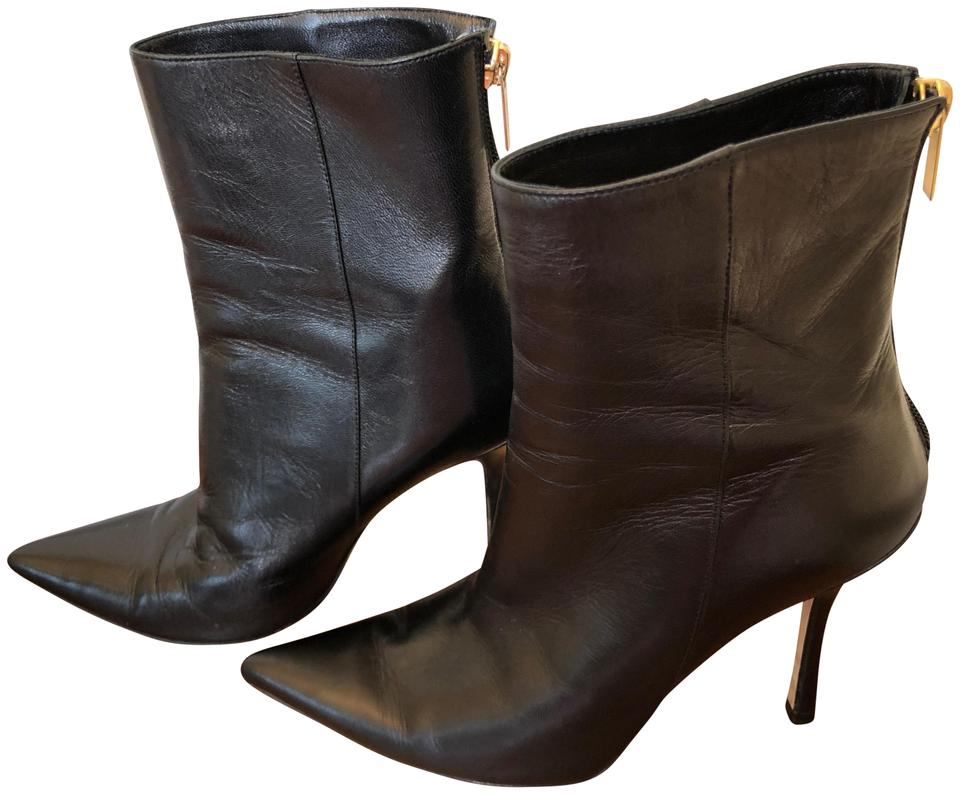 Jimmy Choo schwarz Amore Pointed Pointed Amore Toe Ankle Stiefel Booties Größe EU 36 ... 7470de
