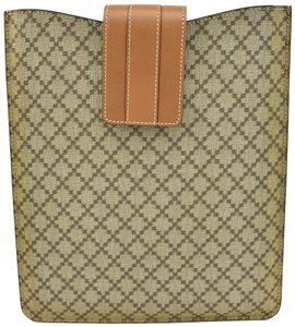 """Gucci Leather & """"Diamante"""" iPad/Tablet Pouch/Sleeve (o)"""