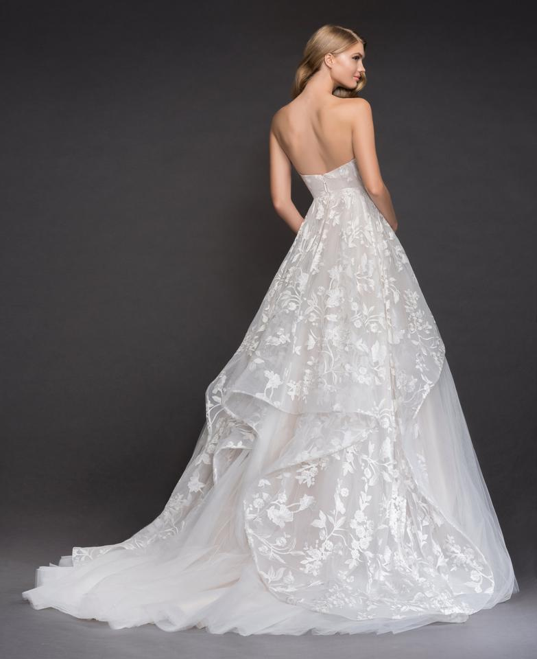 Blush By Hayley Paige Ivory Over Cashmere Lace Tulle Lulu