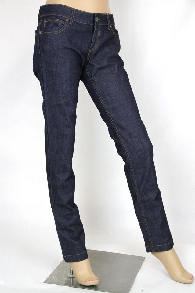 4c91ac5f2 Gucci Dark Blue Women s Denim Legging Pants 40 337614 Xd211 4002 ...
