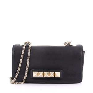 Valentino Leather black Clutch