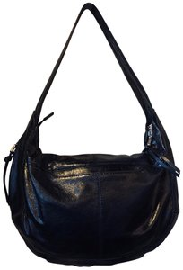 Hobo International Leather Polyester Hobo Bag