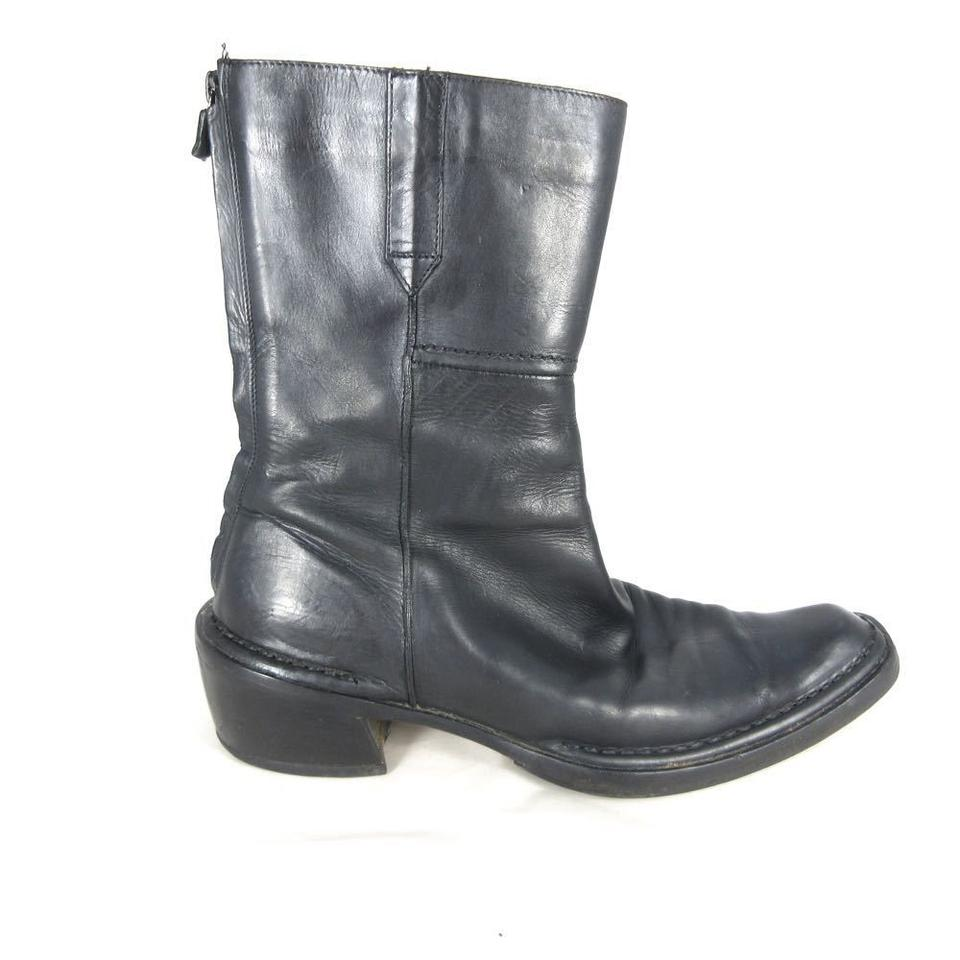 CoSTUME Womens NATIONAL Black 39 / Womens CoSTUME Smooth Leather Mid-calf Boots/Booties 65eb8b