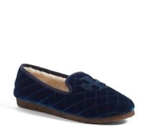 Tory Burch Navy/Black Flats