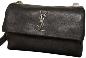 Saint Laurent Ysl Medium Hollywood Shoulder Bag