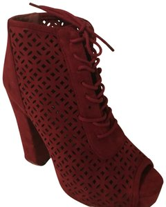 Delicacy Red Boots