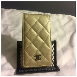 Chanel Authentic Chanel COCO Mark Matrasse Carrying Phone Case Holder Patent Leather