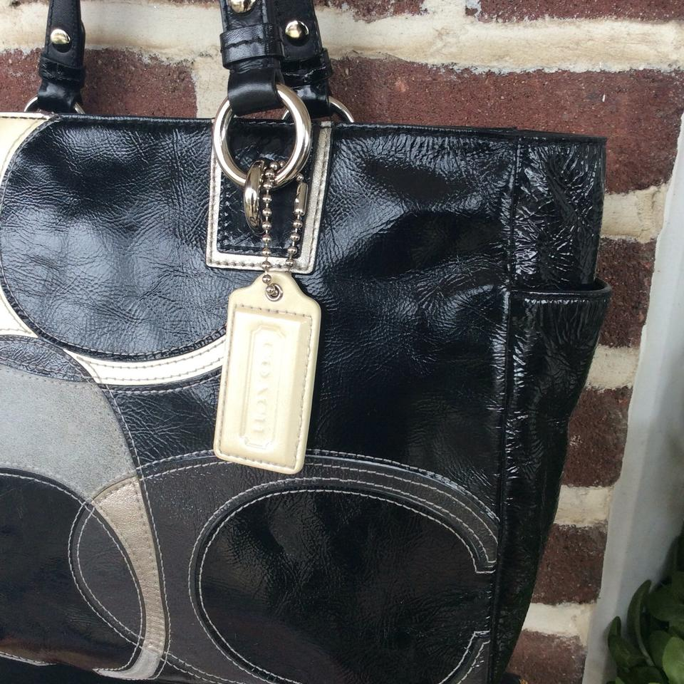e0063dd547 Coach Patent Leather Tote - Tradesy