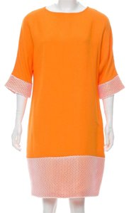 Lisa Perry short dress orange on Tradesy