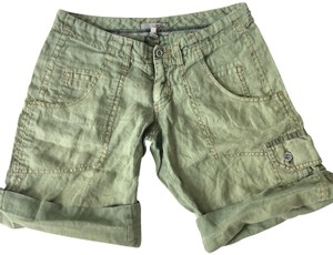Joie Vintage Cuffed Shorts Green