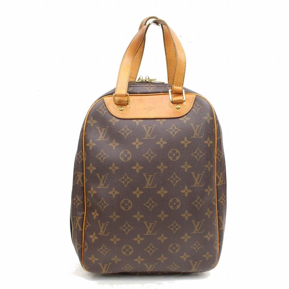 d1f60c13aa52 Louis Vuitton Excursion Monogram Sac 867976 Brown Coated Canvas Tote ...