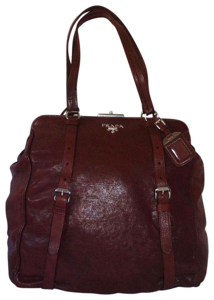 e4ee4490f703 ... coupon prada tote in bordeaux fa09c 47b0e