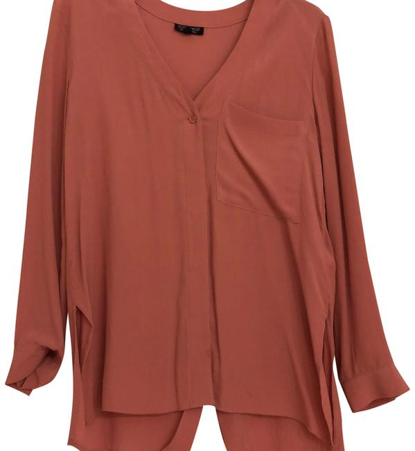 Preload https://img-static.tradesy.com/item/24078964/topshop-pink-button-down-top-size-2-xs-0-1-650-650.jpg