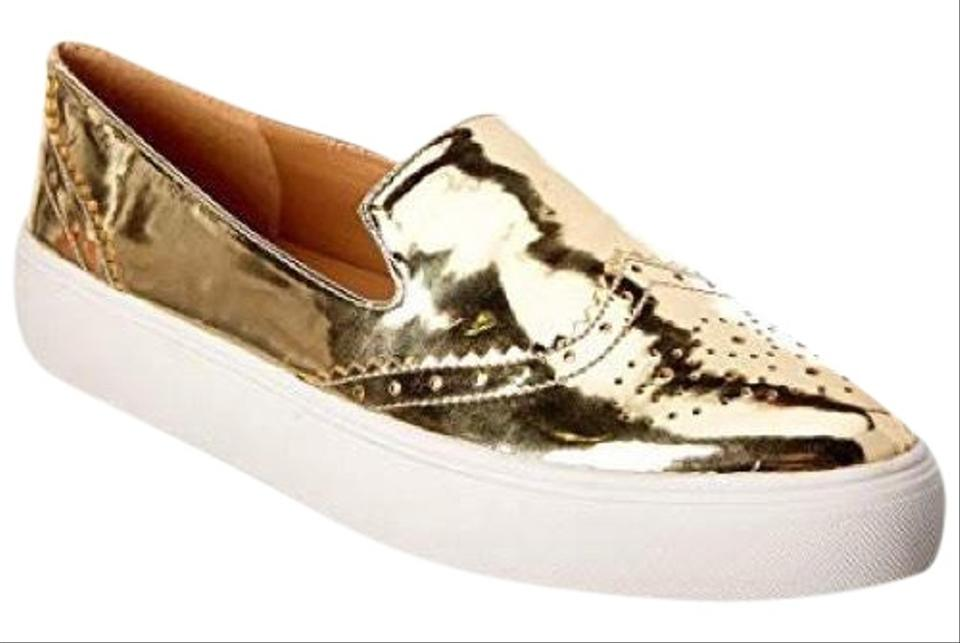Franco Sarto Gold Gold Gold Nelson Slip-on Sneakers Flats 0fb3e7