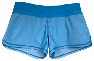 Lululemon Women Mini/Short Shorts Blue