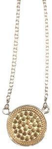 Anna Beck Reversible Disc Necklace - Gold
