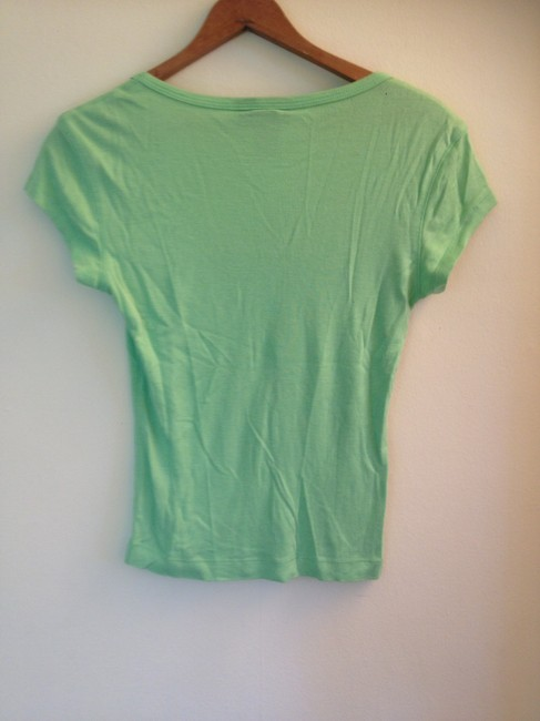 Express Scoop T Shirt Green Neon Image 1