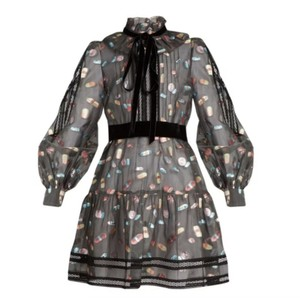 Marc Jacobs short dress Dark Grey Multi on Tradesy