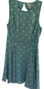 Sans Souci short dress mint/white on Tradesy