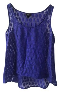 Mossimo Supply Co. Top Royal Blue
