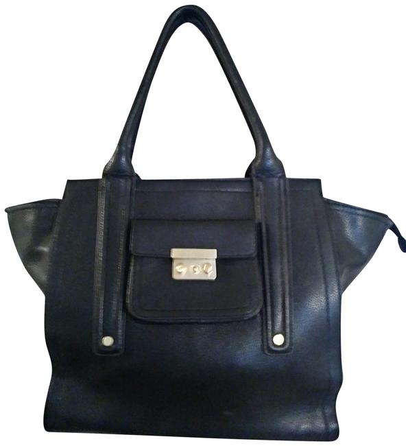 Item - Black Non Leather Material Shoulder Bag