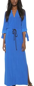 Blue Maxi Dress by T-Bags Los Angeles
