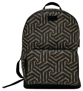 Gucci Gg Caleido Black/Brown School Backpack