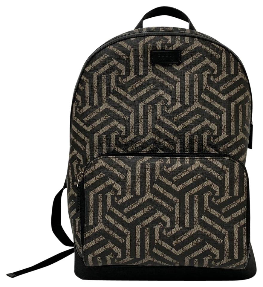 acf1f14b195 Gucci Gg Caleido Supreme Black Canvas Backpack - Tradesy