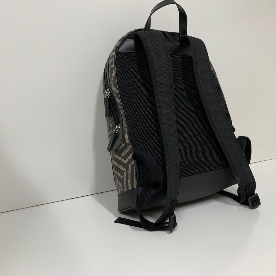 7830de5cba18 Gucci Gg Caleido Black/Brown School Backpack Image 11. 123456789101112