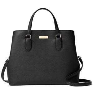 Kate Spade Laurel Way Evangelie Evangelie Evangelie Satchel in Black