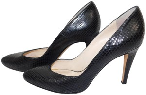 Coye Nokes Snakeskin black Pumps
